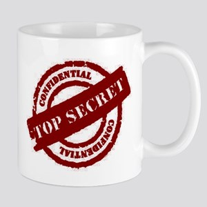Top Secret Red Mug