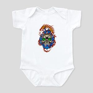 skull`n dragon Infant Bodysuit