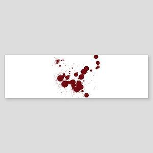 Bloody Bumper Sticker