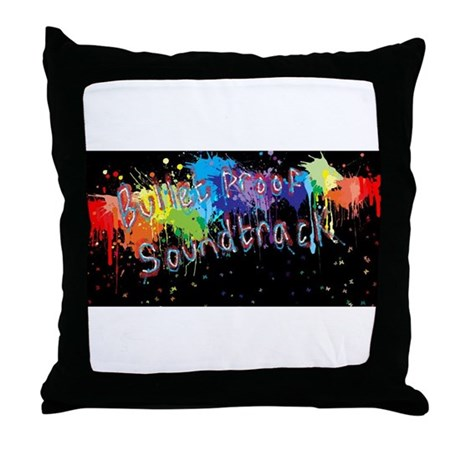 Bullet Proof Soundtrack Throw Pillow
