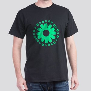 Sunflowers light green Dark T-Shirt