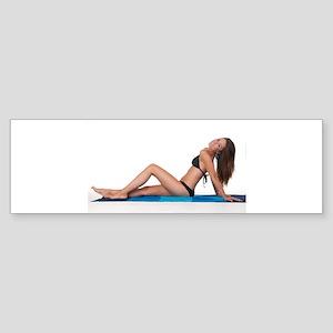 Bikini Girl Bumper Sticker