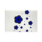 blue Rectangle Magnet (100 pack)