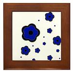 blue Framed Tile