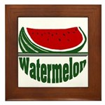 Watermelon Framed Tile