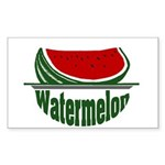 Watermelon Rectangle Sticker