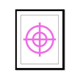 Pink Sight Framed Panel Print