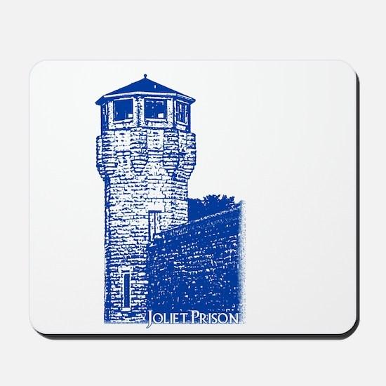 Fox River Prison Blue Mousepad