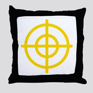 Yellow Sight Throw Pillow