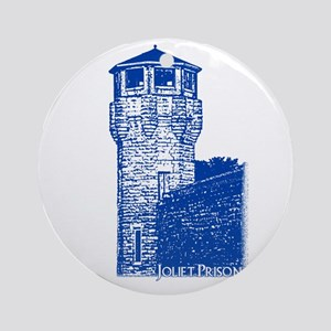 Fox River Prison Blue Ornament (Round)