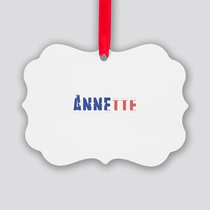 Annette Picture Ornament