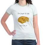 Ginger Cat Jr. Ringer T-Shirt