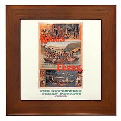 Fogg's Ferry Framed Tile