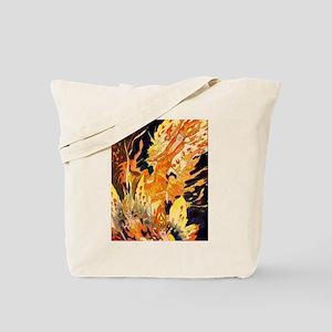 Fire Fiend Tote Bag