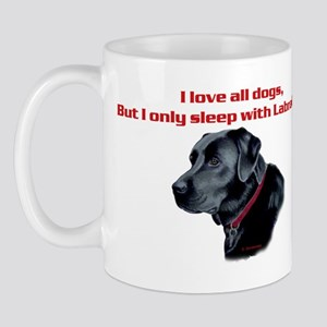 Sleep with Labradors Mug