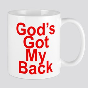 God's got my back Mug