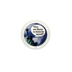 Liberty Mini Button