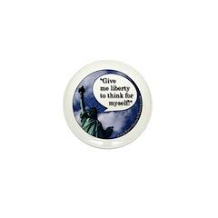 Liberty Mini Button (10 pack)