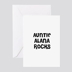 AUNTIE ALANA ROCKS Greeting Cards (Pk of 10)