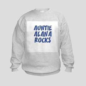 AUNTIE ALANA ROCKS Kids Sweatshirt