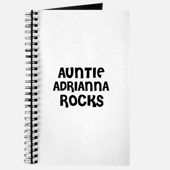 AUNTIE ADRIANNA ROCKS Journal