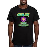 Cheer Up Men's Fitted T-Shirt (dark)