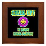 Cheer Up Framed Tile