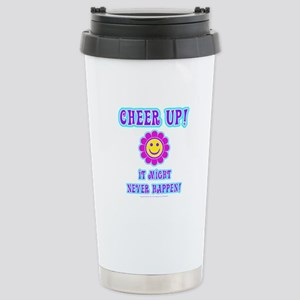 Cheer Up Stainless Steel Travel Mug