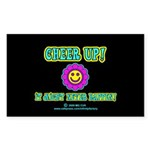 Cheer Up Rectangle Sticker 50 pk)