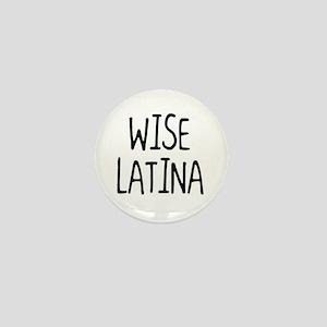 'Wise Latina' Mini Button