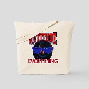 Attitude-Hockey Tote Bag
