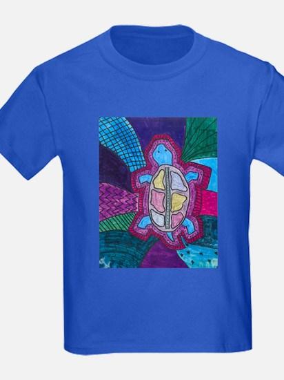 Folk Art Turtle T
