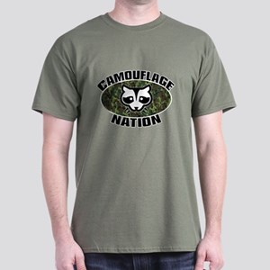 Camo Nation Coon T-Shirt