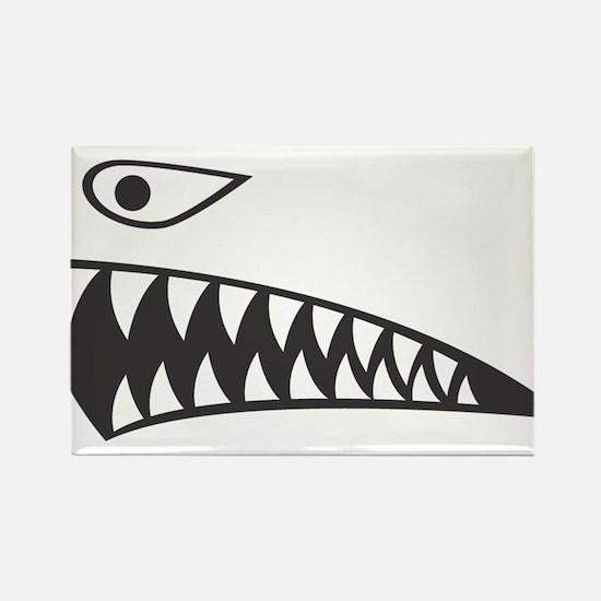 SHARK (1) Rectangle Magnet (100 pack)