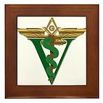 Masonic Veterinarian Framed Tile