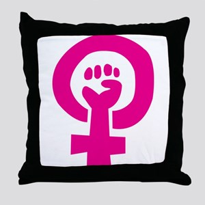 Feminist Pride Throw Pillow