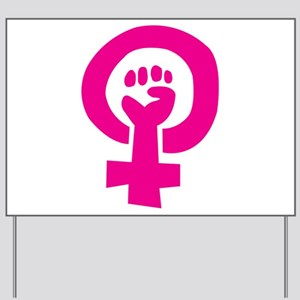 Feminist Pride Yard Sign