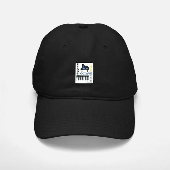 Piano Word Art Baseball Hat