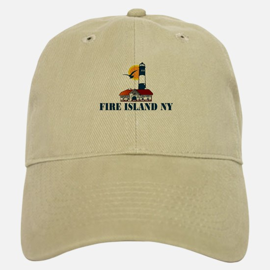Fire Island Baseball Baseball Cap