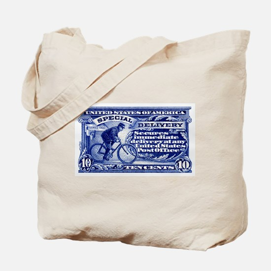 Unique Us postage Tote Bag