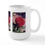 Large Mug - Red Rose #3 (3)