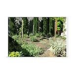 Garden On Vashon Island Mini Poster Print