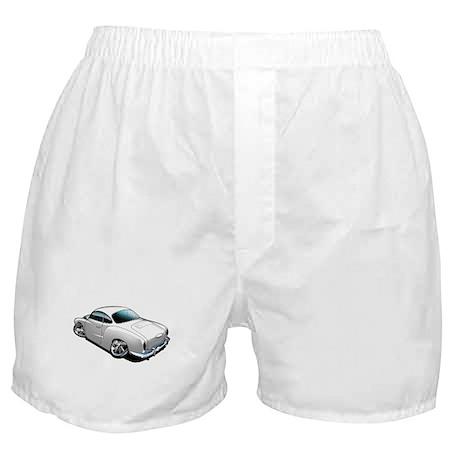 Karmann Ghia White Boxer Shorts