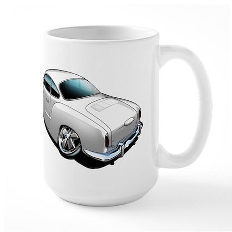 Karmann Ghia White Large Mug