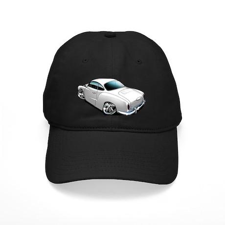 Karmann Ghia White Black Cap