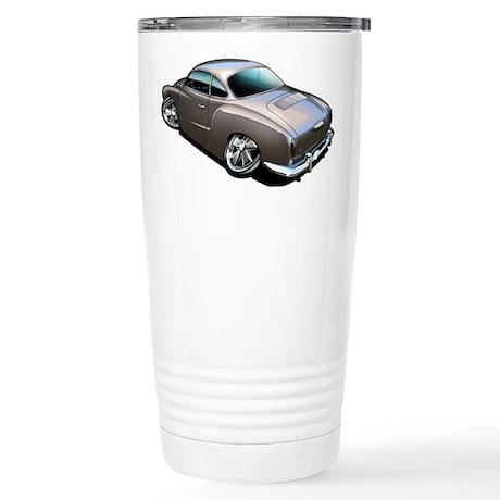 Karmann Ghia Brown Stainless Steel Travel Mug