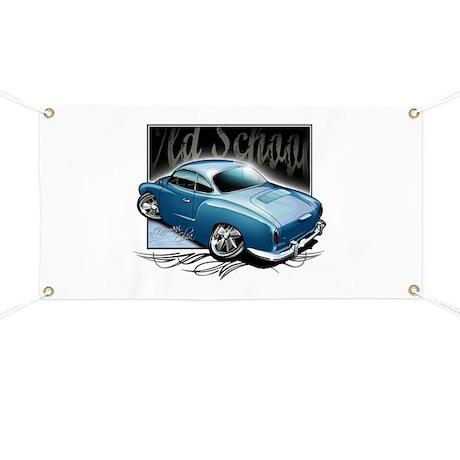 Bg Karmann Ghia Blue Banner
