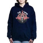 Fat Tone Amps logo Women's Hooded Sweatshirt