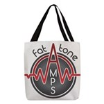 Fat Tone Amps logo Polyester Tote Bag