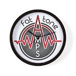 Fat Tone Amps logo Wall Clock